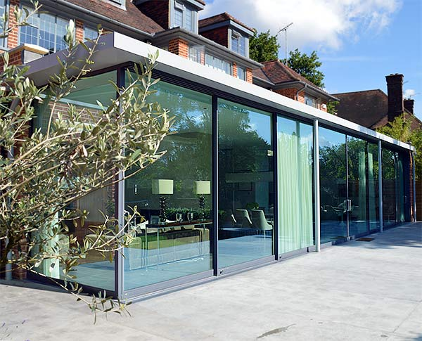 glass house extension cleaning tips